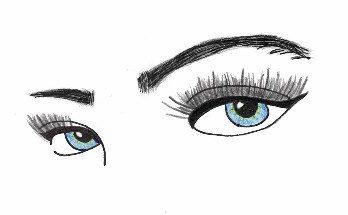 Busy Blue Eyes